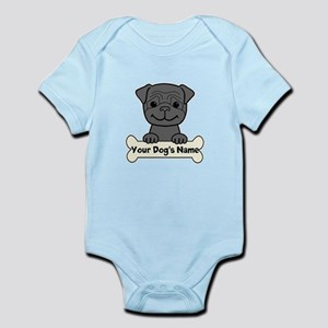 Personalized Pug Infant Bodysuit